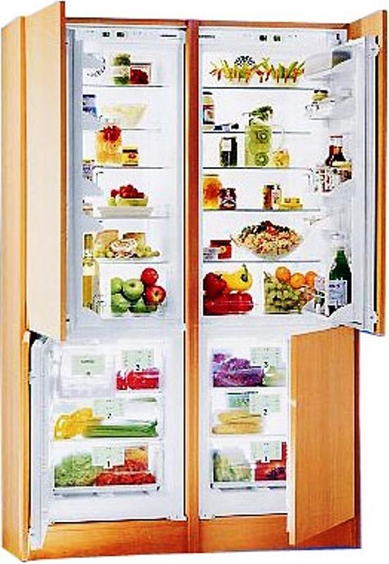 купить Встраиваемый холодильник Side-By-Side Liebherr SBS 57I2 26 Украина фото 0