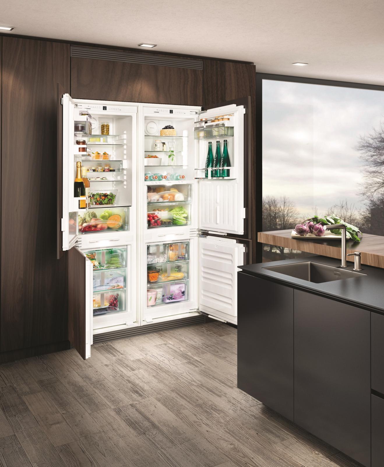 купить Встраиваемый холодильник Side-by-side Liebherr SBS 66I3 21 Украина фото 3