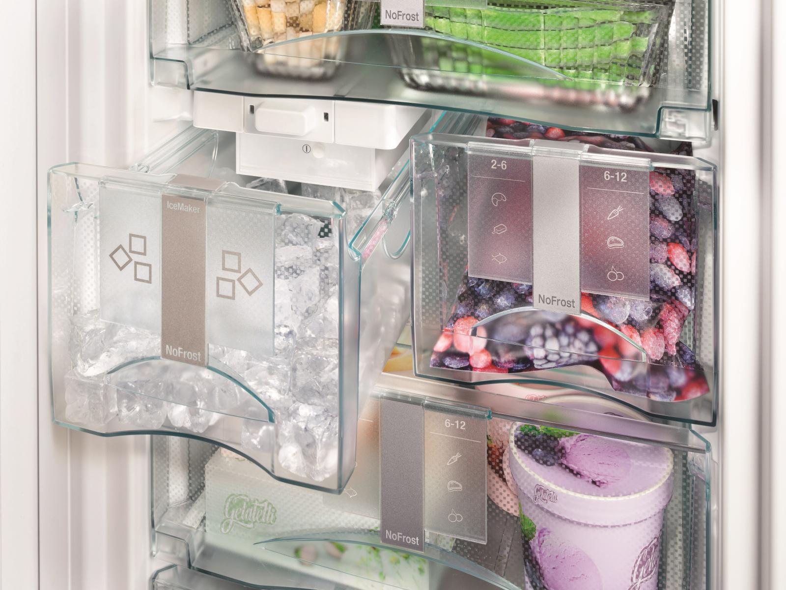 купить Встраиваемый холодильник  Side-by-side Liebherr SBS 70I4 003 Украина фото 9