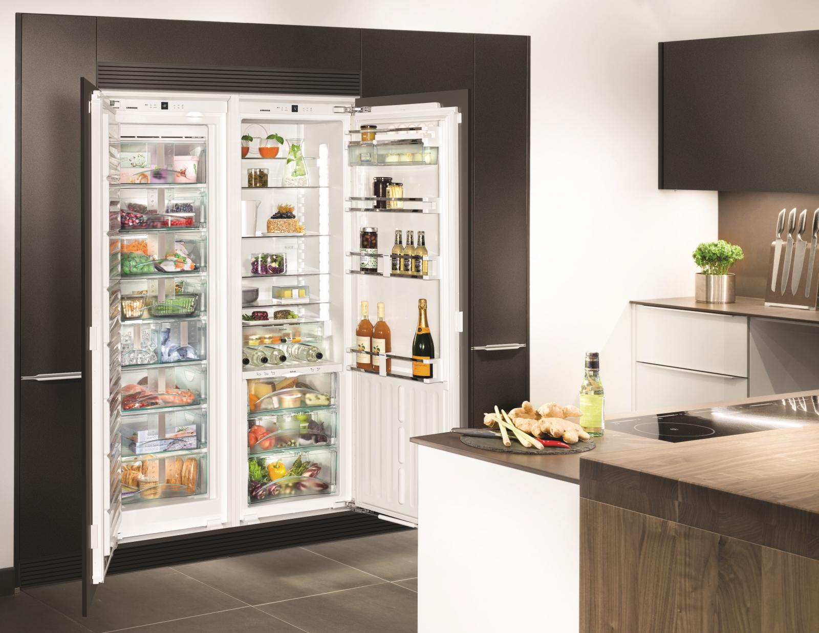 купить Встраиваемый холодильник  Side-by-side Liebherr SBS 70I4 003 Украина фото 3
