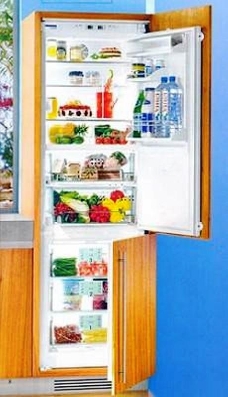 купить Встраиваемый комбинированный двухкамерный холодильник Liebherr ICBN 3056 Украина фото 4