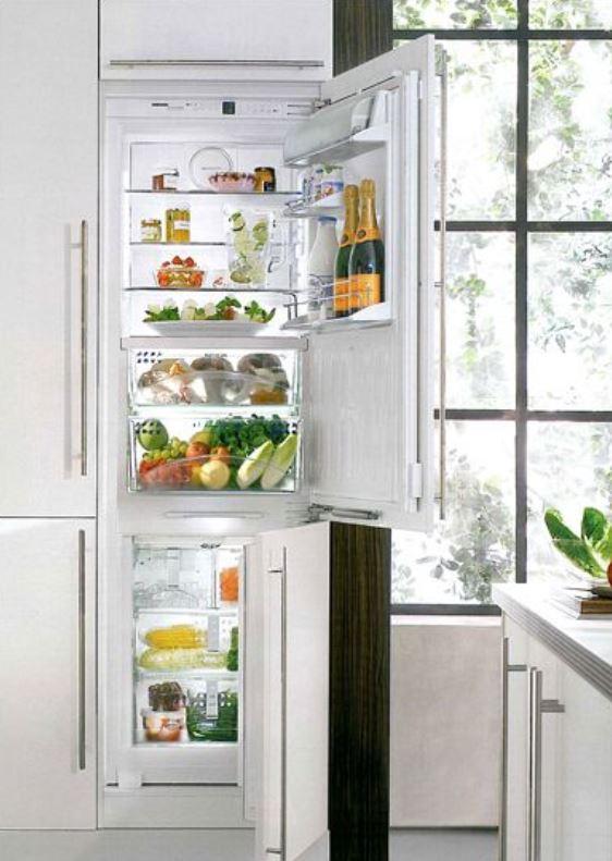 купить Встраиваемый комбинированный двухкамерный холодильник Liebherr ICBN 3066 Украина фото 1