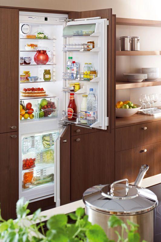 купить Встраиваемый комбинированный двухкамерный холодильник Liebherr ICN 3066 Украина фото 2