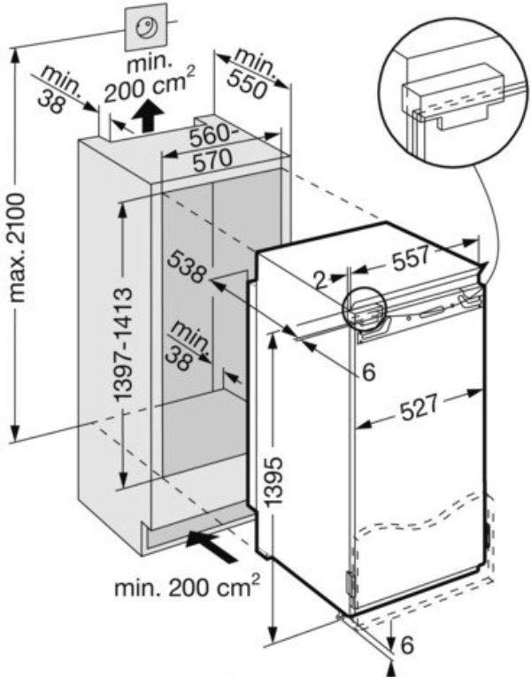 купить Встраиваемый однокамерный холодильник Liebherr IK 2764 Украина фото 3