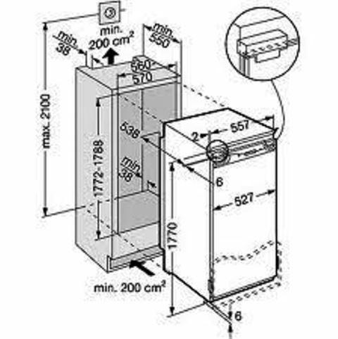 купить Встраиваемый однокамерный холодильник  Liebherr IK 3620 Украина фото 1