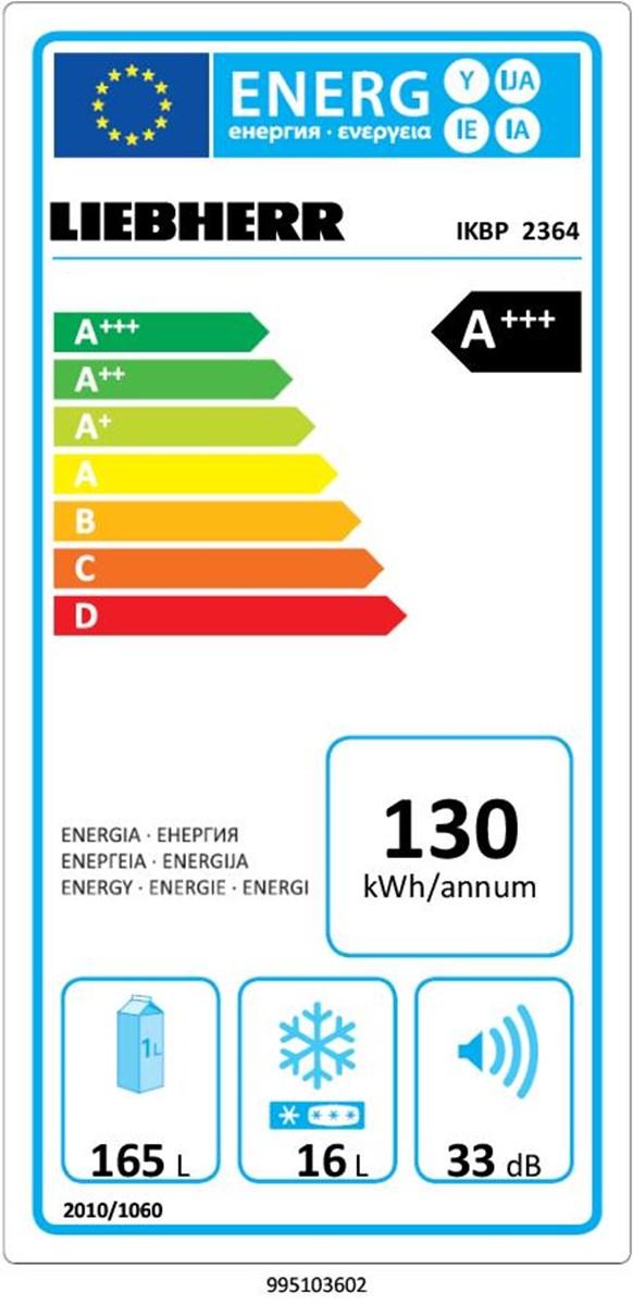 купить Встраиваемый однокамерный холодильник Liebherr IKBP 2364 Украина фото 3