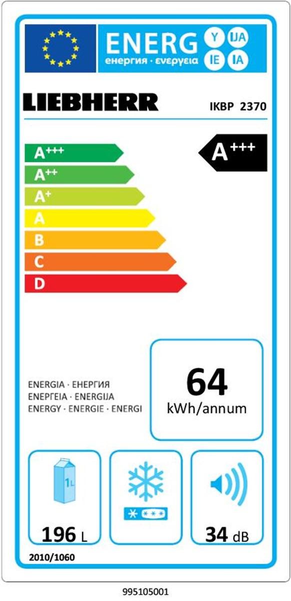 купить Встраиваемый однокамерный холодильник Liebherr IKBP 2370 Украина фото 1