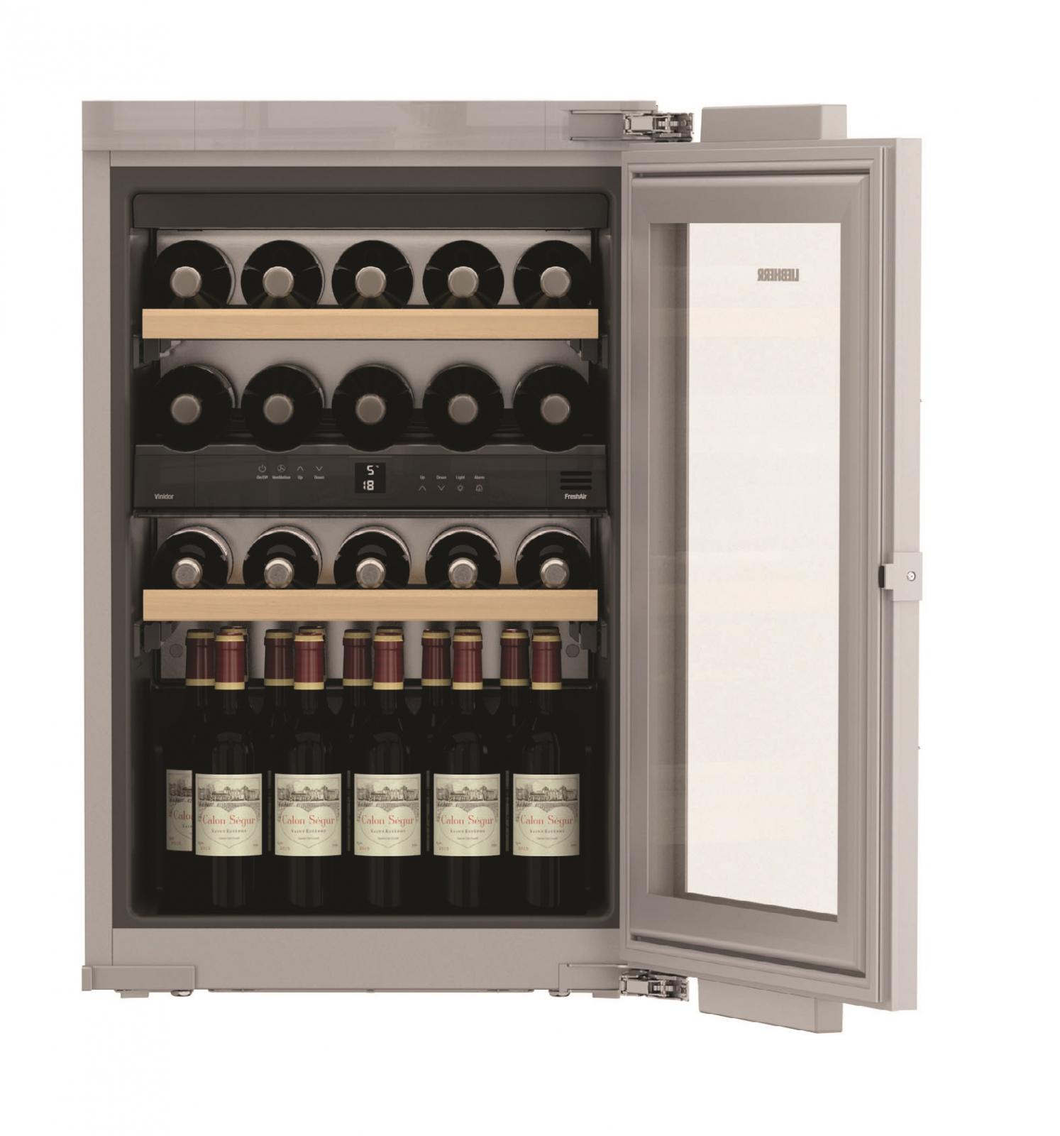 Встраиваемый винный шкаф Liebherr EWTdf 1653 купить украина