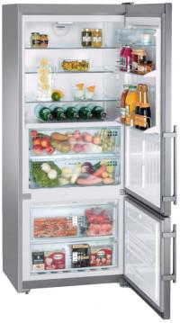 Двухкамерный холодильник Liebherr CBNPes 4656 купить украина